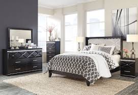 ashley furniture b348 fancee modern queen or king panel bed