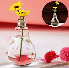 online shop beautiful stand bulb glass plant flower vase