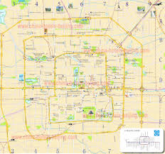 Map Of Beijing China by Beijing Map With Hotels And Attractions