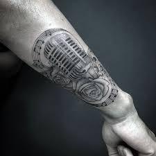 25 best music tattoos for men images on pinterest a skeleton