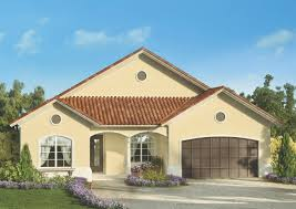 contemporary single story house plans modern european home design