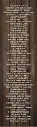 christmas quote daughter my old man lyrics zac brown band wood sign canvas wall art