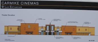 carmike cinemas breaks ground on 12 screen movie theater at las
