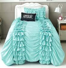 Ruffle Bedding Set Frilly Comforter Set