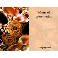 wedding presentation template free download free wedding