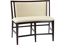 Park Bench And Table Cindy Crawford Home Highland Park Ebony Counter Height Bench