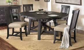 pine dining room table modus yosemite solid pine round dining set the dump america u0027s