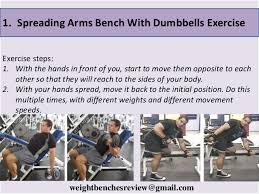 five exercise you can do with weight bench