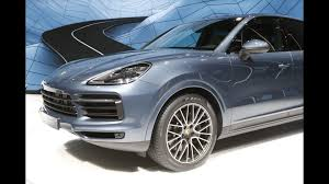 porsche slate gray metallic most expensive 2019 porsche cayenne turbo costs 166 310