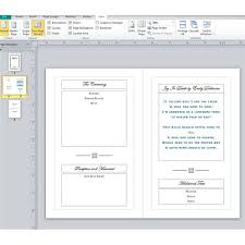 template for funeral program sle funeral program layout what should you include