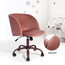 chaise à roulettes de bureau fauteuil de bureau scandinave fauteuil à roulettes moderne