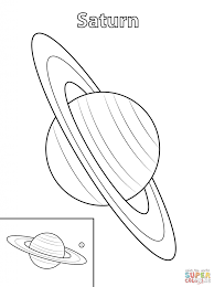 saturn planet coloring pages download printable space