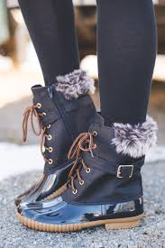 womens duck boots target s favorite fur duck boots black from nanamacs boutique