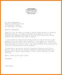 7 appointment acceptance letter resume language