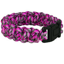 bracelet paracord survival images Everbilt 9 in pink camo paracord bracelet 800365 the home depot jpg