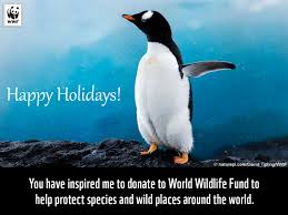 celebrate the holidays with a gift to nature world wildlife fund