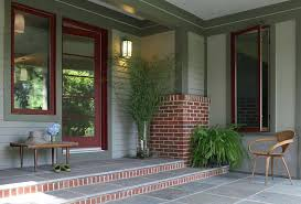 epic trim colors for red brick best of houses ideas on image