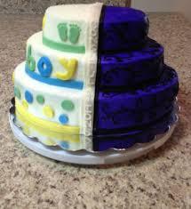 Halloween Baby Shower Half Baby Shower Half Halloween Wedding Cakecentral Com
