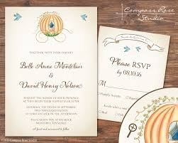 cinderella wedding invitations compass studio invitation suites