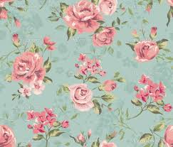 amusing pink and blue floral wallpaper spectacular home design