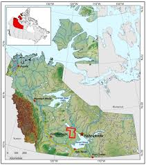Map Of The Northwest Chan Lake Aeromagnetic Survey Northwest Territories Geological