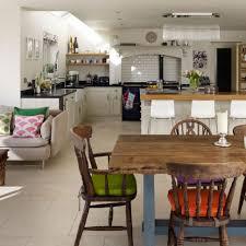 Living Room Kitchen L Shaped Open Plan Kitchen Diner Living Room