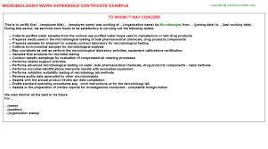 Microbiologist Sample Resume Essay Over Personeelsbeleid Vet Tech Cover Letter Popular Phd