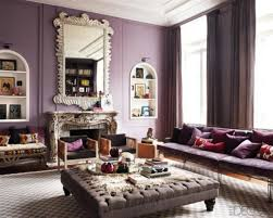 Purple Living Room by Hang Crystal Pendant Lamp White Square Ottoman Ikea Modern Living