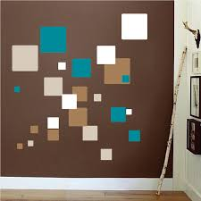 Square Wall Mural Decals Living Room Wall Decal Murals Primedecals - Wall design decals