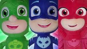 pj masks villains luna romeo night ninja transforming