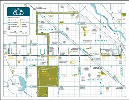 Chicago Transit Authority Map by Physical Geography The Geographic Society Of Chicago