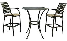 deck table and chairs best round patio table sets for your outdoor furniture walls small