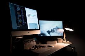 Desk Computers Free Images Desk Work Keyboard Brand Design Multimedia