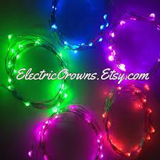 blue string lights pink white led lights light up