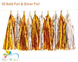 gold foil tissue paper aliexpress buy 25 35cm 10pcs lot gold foil and silver foil