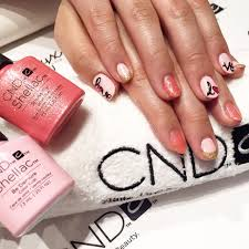 valentine u0027s day shellac nails with cnd u0027s new summer line