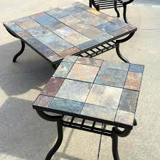 Ashley End Tables And Coffee Table Find More Signature Design By Ashley Antigo Slate Top Square