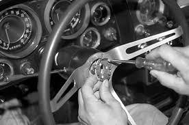 1968 corvette steering column 1963 1967 steering wheel horn button stand canceling