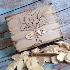 wedding wishes keepsake box rustic wedding guest book alternative guest book memory box