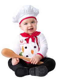 18 Month Halloween Costumes Boys Infant Hugs Quiches Chef Costume