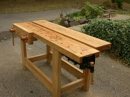 Easy Wood Workbench Plans by 214 Best Workbenches Images On Pinterest Woodwork Wood Projects
