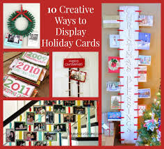 cards display ideas to home