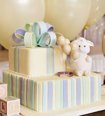 baby lamb themed shower gender reveal party hostess with the