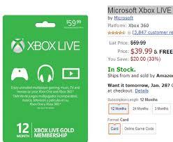 xbox 360 gift card free xbox 360 live codes