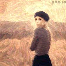 a photo turned into van gogh style painting without photo