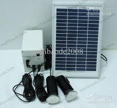 solar batteries for outdoor lights energy solar system 5w solar panel battery two led lighting