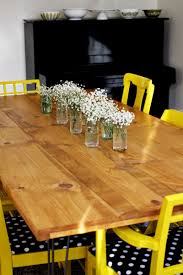 Diy White Dining Room Table Dining Room Simple And Neat Furniture For Dining Room