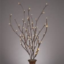 Lighted Branches Lighted Willow Branches Bendable 39 Inch Tall Set