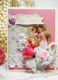 simply shabby chic misty rose inspired and unscripted shabby chic happy birthday card