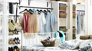 stylish open bedroom closet ideas youtube